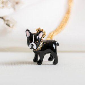 Kate Spade Antoine Dog Pendant Necklace